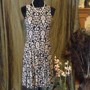 Loft floral tank dress size XS